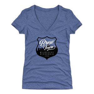 Milwaukee Women's V-Neck T-Shirt | 500 LEVEL
