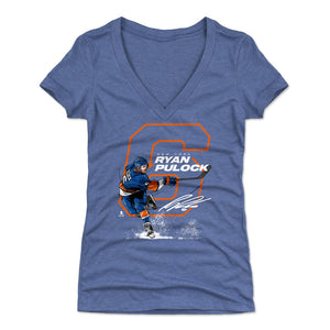 Ryan Pulock Women's V-Neck T-Shirt | 500 LEVEL