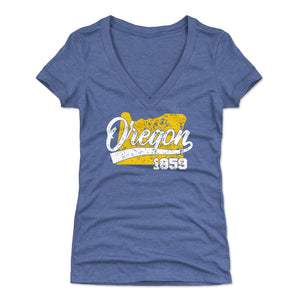 Oregon Women's V-Neck T-Shirt | 500 LEVEL