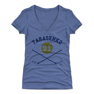 Vladimir Tarasenko Women's V-Neck T-Shirt | 500 LEVEL