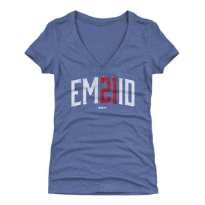 Joel Embiid Women's V-Neck T-Shirt | 500 LEVEL