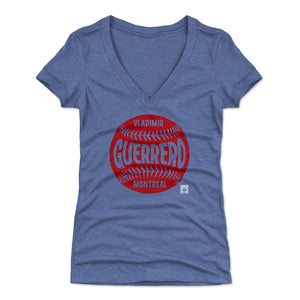 Vladimir Guerrero Women's V-Neck T-Shirt | 500 LEVEL