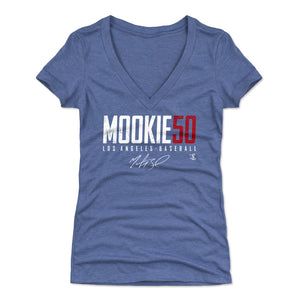 Mookie Betts Women's V-Neck T-Shirt | 500 LEVEL