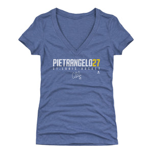 Alex Pietrangelo Women's V-Neck T-Shirt | 500 LEVEL