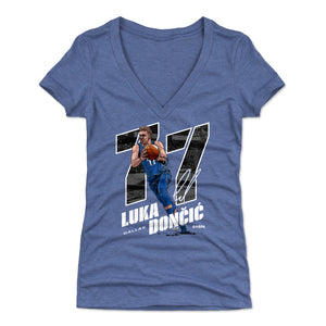 Luka Doncic Women's V-Neck T-Shirt | 500 LEVEL