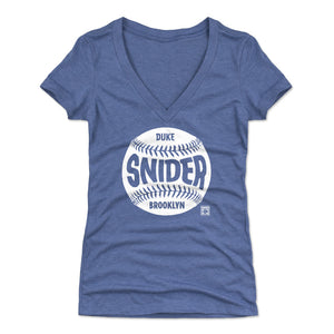 Duke Snider Women's V-Neck T-Shirt | 500 LEVEL