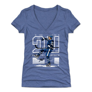 Kasperi Kapanen Women's V-Neck T-Shirt | 500 LEVEL
