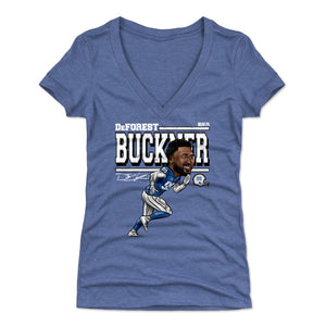 DeForest Buckner Women's V-Neck T-Shirt | 500 LEVEL