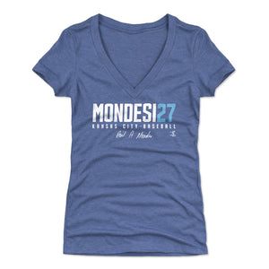 Adalberto Mondesi Women's V-Neck T-Shirt | 500 LEVEL