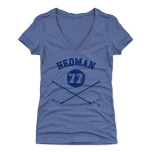 Victor Hedman Women's V-Neck T-Shirt | 500 LEVEL