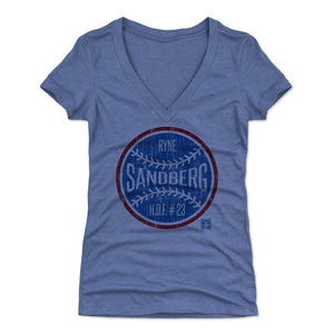 Ryne Sandberg Women's V-Neck T-Shirt | 500 LEVEL