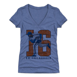 Dwight Gooden Women's V-Neck T-Shirt | 500 LEVEL