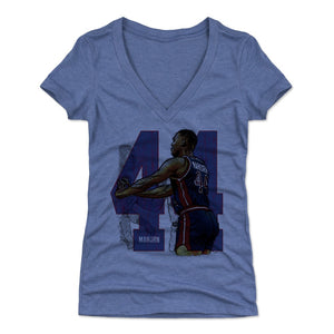Rick Mahorn Women's V-Neck T-Shirt | 500 LEVEL