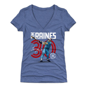 Tim Raines Women's V-Neck T-Shirt | 500 LEVEL