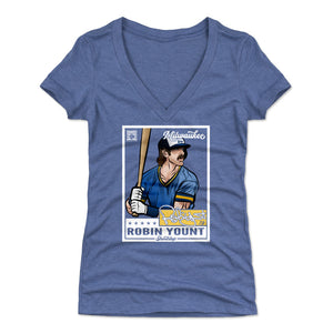 Robin Yount Women's V-Neck T-Shirt | 500 LEVEL