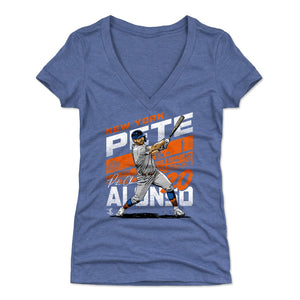 Pete Alonso Women's V-Neck T-Shirt | 500 LEVEL