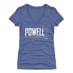 Dwight Powell Women's V-Neck T-Shirt | 500 LEVEL
