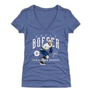 Brock Boeser Women's V-Neck T-Shirt | 500 LEVEL