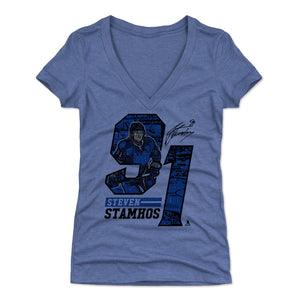 Steven Stamkos Women's V-Neck T-Shirt | 500 LEVEL