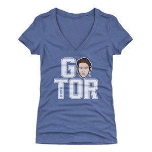 Travis Dermott Women's V-Neck T-Shirt | 500 LEVEL
