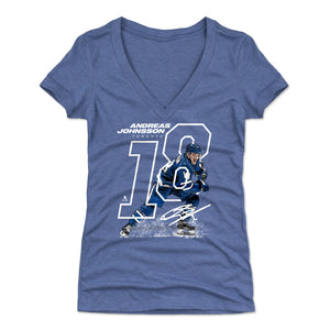 Andreas Johnsson Women's V-Neck T-Shirt | 500 LEVEL
