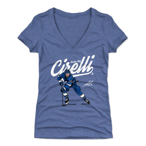 Anthony Cirelli Women's V-Neck T-Shirt | 500 LEVEL
