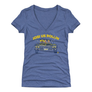 Roman Josi Women's V-Neck T-Shirt | 500 LEVEL