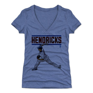Kyle Hendricks Women's V-Neck T-Shirt | 500 LEVEL