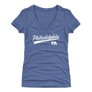 Philadelphia Women's V-Neck T-Shirt | 500 LEVEL