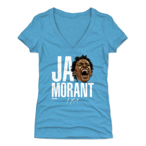 Ja Morant Women's V-Neck T-Shirt | 500 LEVEL