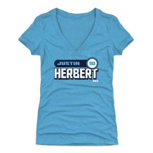 Justin Herbert Women's V-Neck T-Shirt | 500 LEVEL