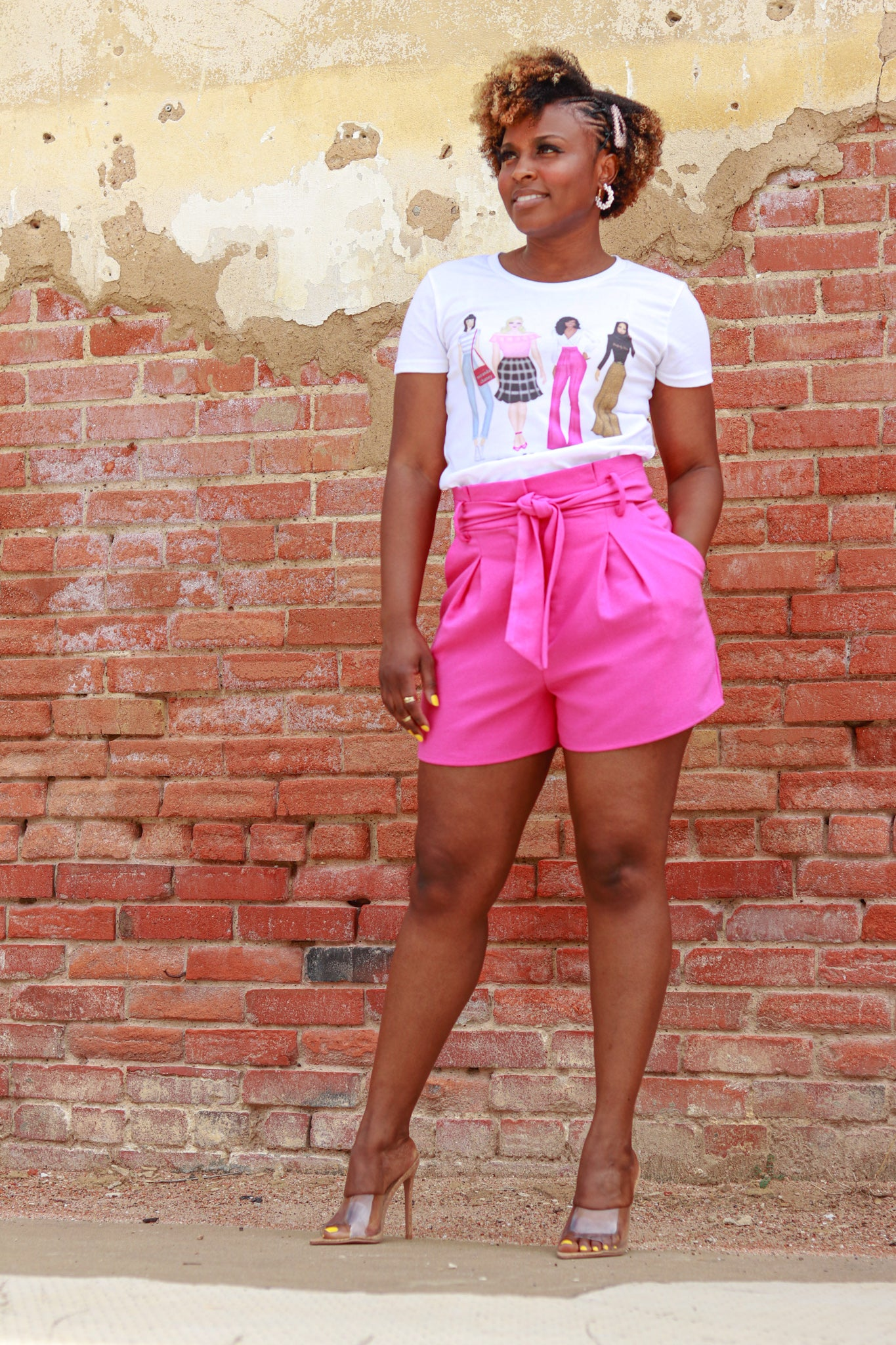 Pretty Petite short sleeve t-shirt