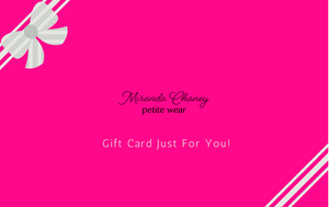 Miranda Chaney Gift Card