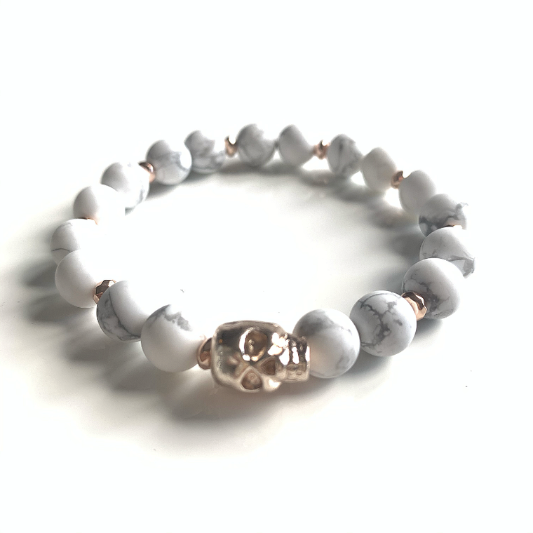 Transition Bracelet (Howlite)