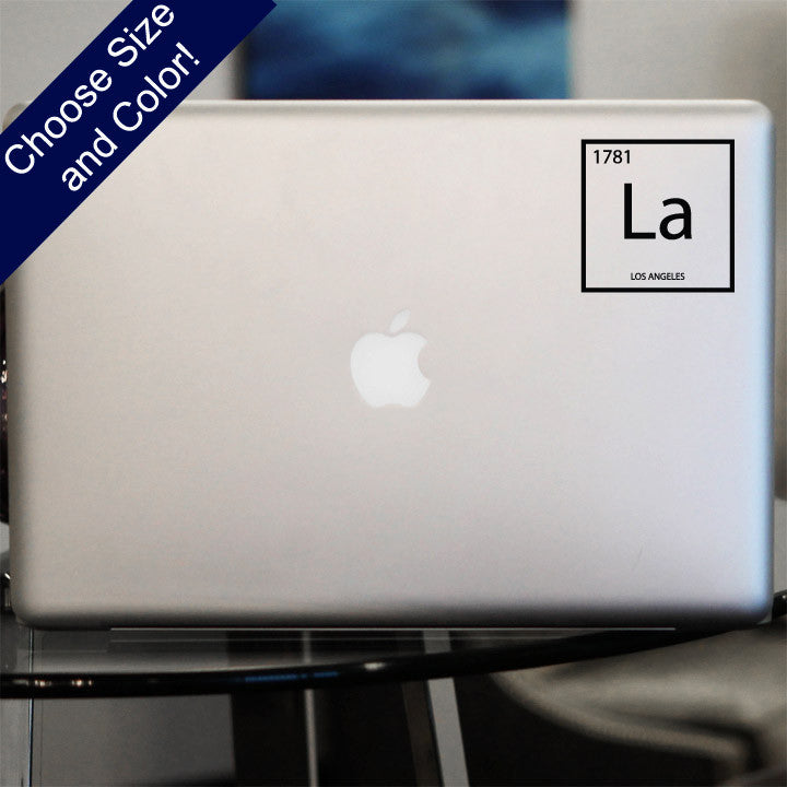 Los Angeles Element Decal, CA Vinyl Sticker