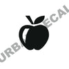 Apple Decal, Vinyl Sticker