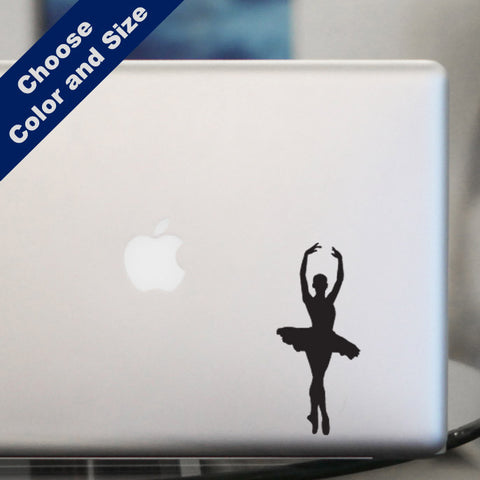 Ballerina En Pointe Decal