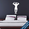 Bodybuilder Biceps Pose Wall Decal