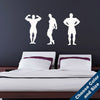 Bodybuilder Wall Set Decal