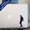 Bodybuilder Triceps Pose Decal, Vinyl Sticker