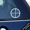 Crosshairs Decal, Vinyl Sticker