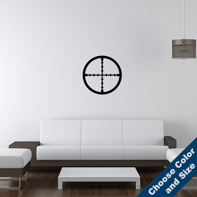 Crosshairs Wall Decal