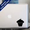 Cupcake Decal, Vinyl Sticker