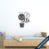 Cute Bee Wall Decal
