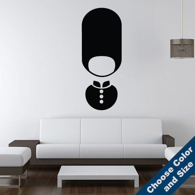 English Guard Wall Decal