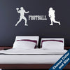 Football Players Wall Decal Set
