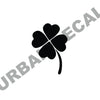 Four Leaf Clover Wall Decal