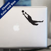 Soccer Goalie Decal, Vinyl Sticker
