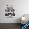 Happy Halloween Wall Decal - Holiday Vinyl Sticker