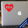 I Heart Seattle Decal